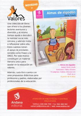 COLECCIÓN VALORES DE ANDANA EDITORIAL