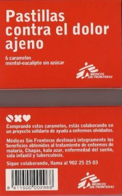 PASTILLAS DE MÉDICOS SIN FRONTERAS